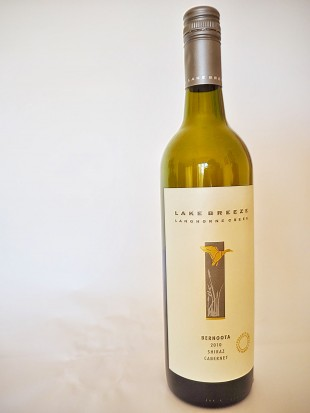 Lake Breeze Bernoota Shiraz Cab Sauv 2010 Wine Tasting Review